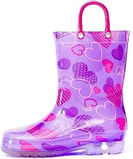 cfc51918ac04 Amazon.com: Purple - Rain Boots / Outdoor: Clothing, Shoes & Jewelry