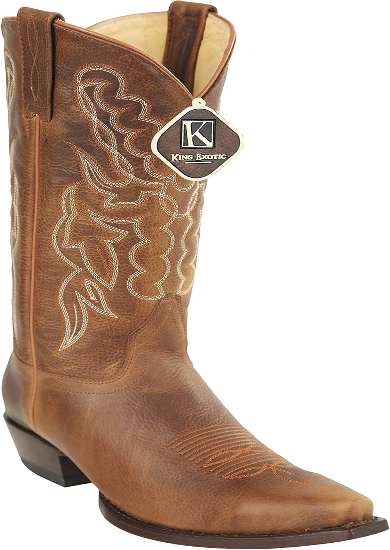 Women's Snip Toe Honey Genuine Leather Rage Skin Western Boots