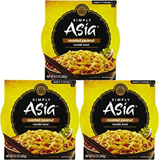 Simply Asia Roasted Peanut Noodle Bowl, 8.5 oz, 3 pk