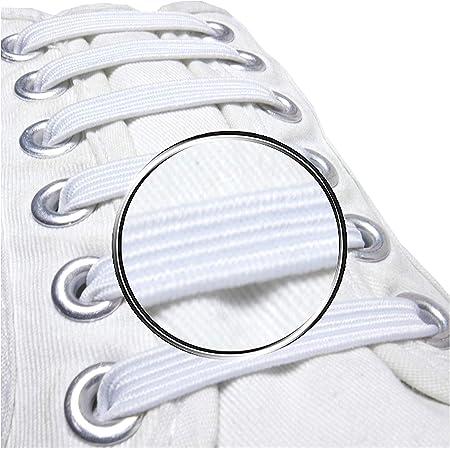 Pack of 20, No Tie Elastic Shoelaces