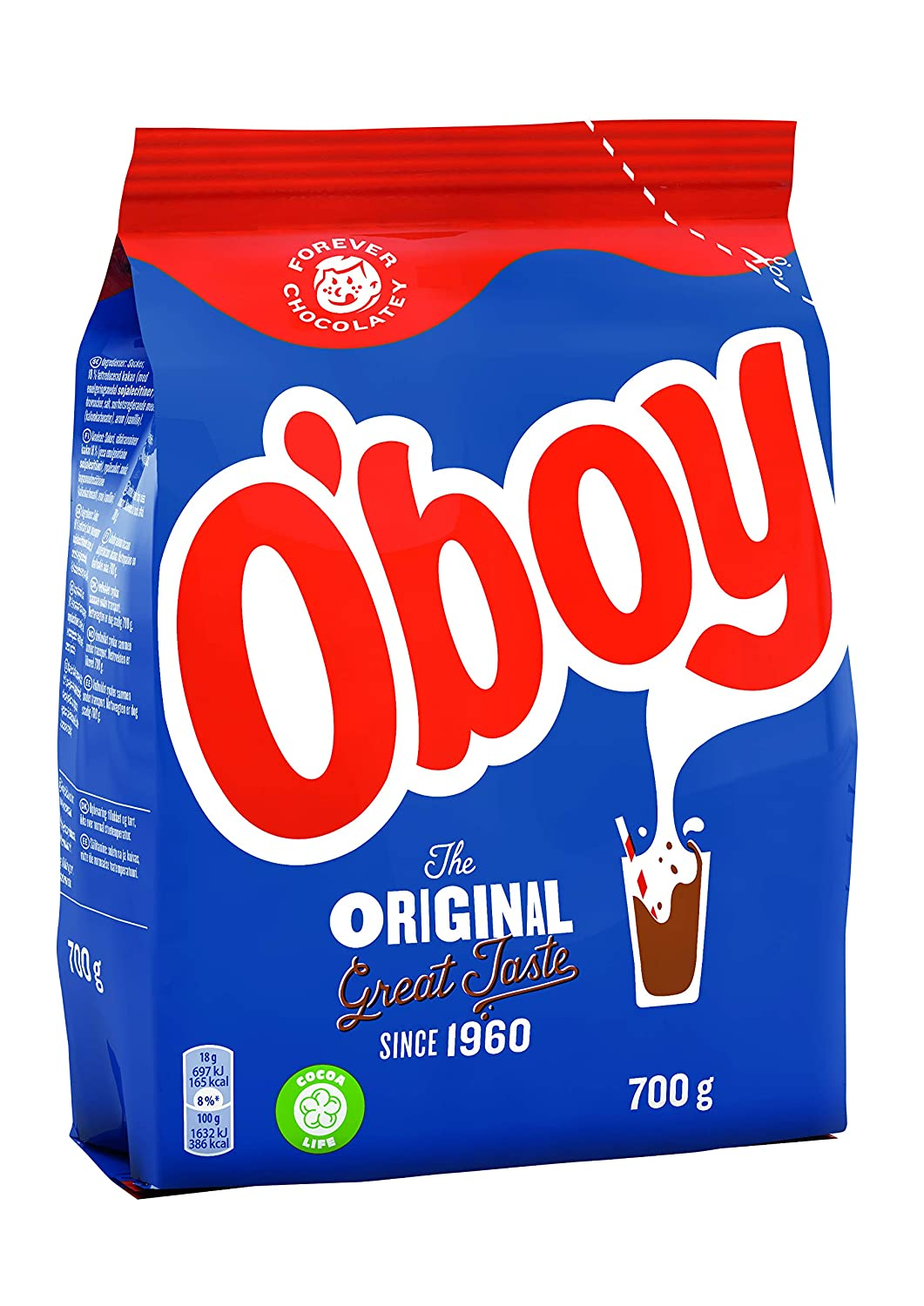 O'Boy Chokladdryck Regular discount Big 70% OFF Outlet Pack – Instant 7 Chocolate Milk