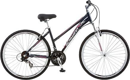 Schwinn GTX 1.0 700c Bicicleta Deportiva Dual para Mujer, Rueda de 700 c y Marco pequeño de 16 Pulgadas, Color Gris