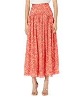 ML Monique Lhuillier - Printed Midi Skirt