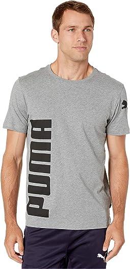 PUMA Herren T Shirt Vintage No.1 Logo