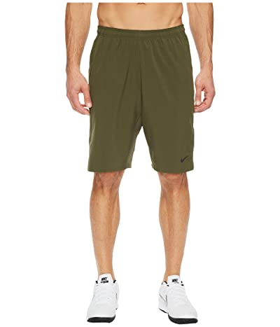 Nike N.E.T. 11 Woven Short (Cargo Khaki/Black) Men