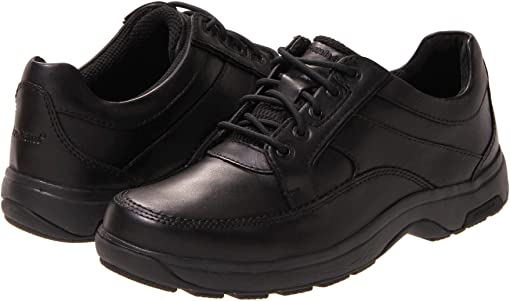Black Polished Leather