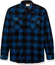Wrangler Men's Big & Tall Long Sleeve Plaid Fleece Shirt