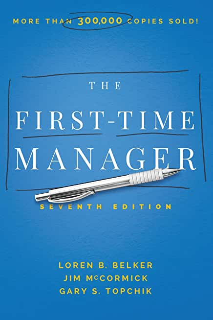 The First-Time Manager (English Edition)
