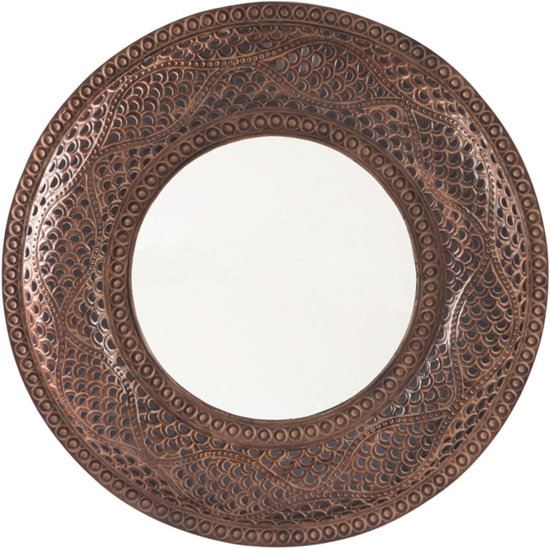 Ashley Furniture Signature Design - Elikapeka Accent Mirror Antique Brown