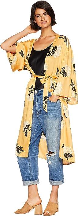 Lets Unwind Kimono