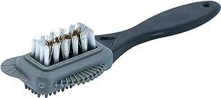 Cadillac Premium Boot Brush Cleaner - 4-Way Suede & Nubuck Leather Upper Shoe Brush - Multi-use Cleaner Brush Tool