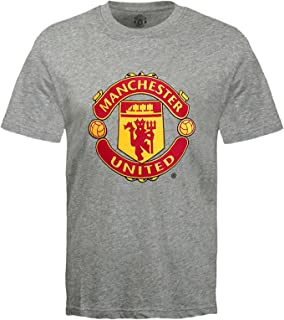 Manchester United Football Club Official Soccer Gift Kids Crest T-Shirt