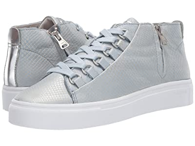 Blackstone Mid Sneaker NL28 (Blue Metallic) Women