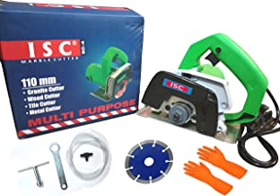 ISC Powerful Multipurpose Cutting Machine(110 mm) For Wood/Marble/Tile/Granite/Metal Cutting With Combo Handheld Tile Cutter