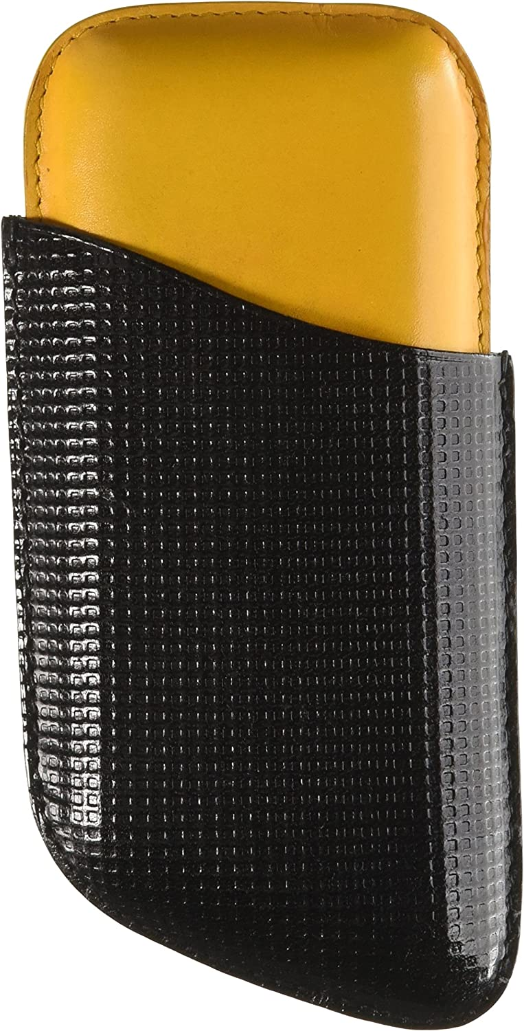 Colorado High order Springs Mall Visol Products VCASE410 Trivo Black Case Cigar Yellow and