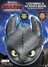 Dreamworks Dragons Bendon 24537 How to Train Your Dragon 3 Coloring & Activity Book with Mask