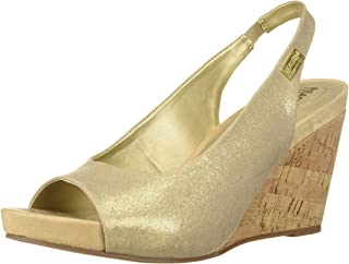 Women's Wait Sling Open Toe Wedge Sandal