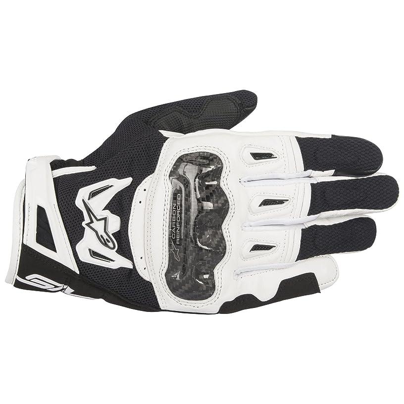 Alpinestars SMX-2 AC V2 Carbon Air Black/White Large Summer Glove