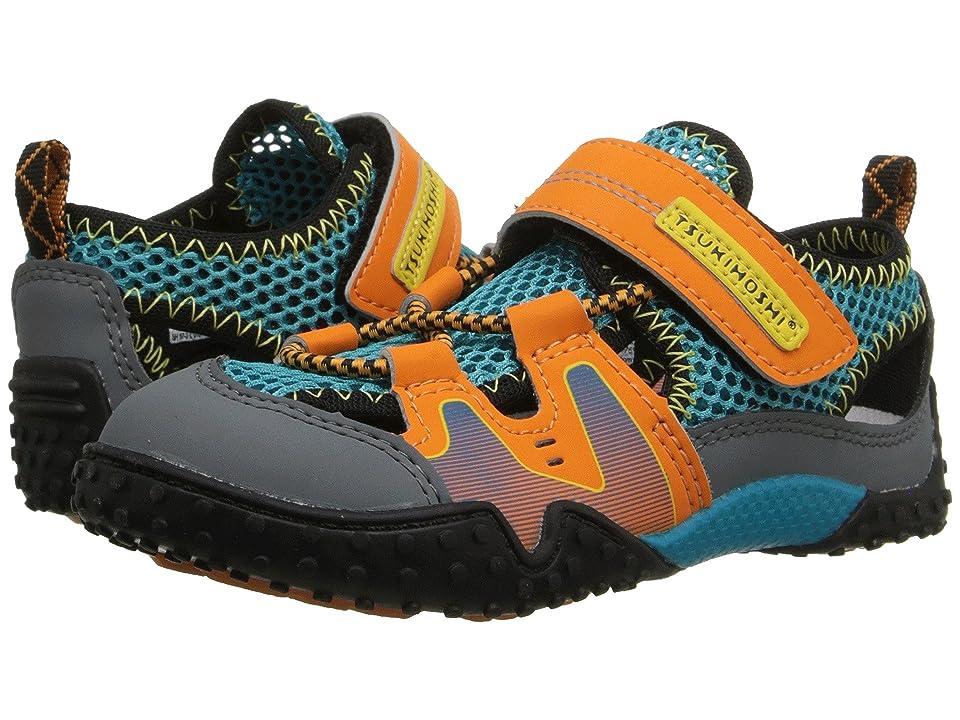 Tsukihoshi Kids Ibiza (Toddler/Little Kid) (Orange/Sea) Boys Shoes