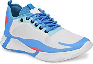Shoistic Men's Ultra Light Casual Blue Sneakers Shoes Sports Shoes Running,Walking Gym Training Shoes