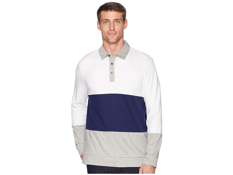 Calvin Klein The Liquid Touch Polo (Stand White Combo) Men