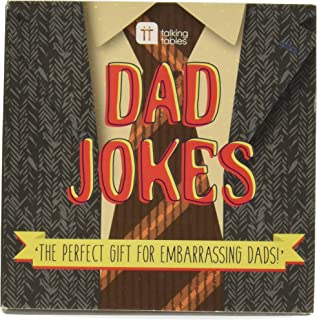 Talking Tables Jokes Dad Jokes (60 cards) for Fathers Day, Christmas Gifts,