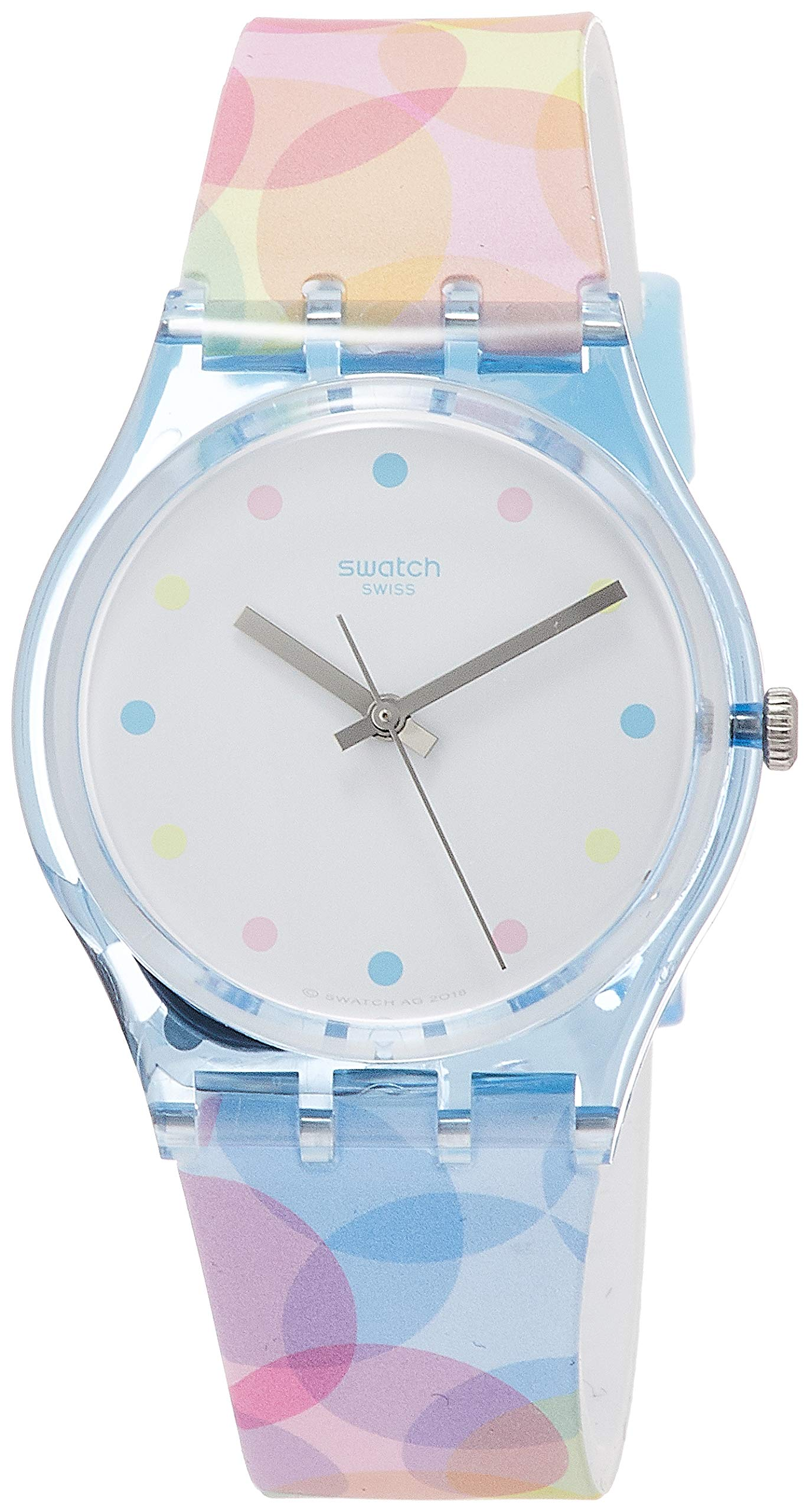 Swatch Womens Analogue Silicone GS159