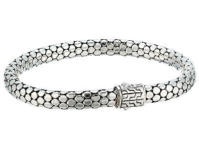 John Hardy Dot 6.5mm Bracelet (Silver) Bracelet