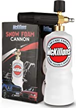 "McKillans Foam Cannon Professional Grade Adjustable Lance Pressure Washer Jet Wash with 1/4"" Quick Connector"