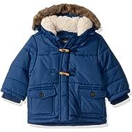 OshKosh B'Gosh Baby Boys Heavyweight Winter Jacket W/Hood Trim