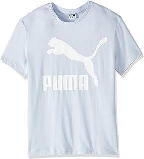 تي شيرت للنساء بتصميم كلاسيكي من بوما يحمل الشعار بنمط مرقط
