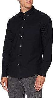 Calvin Klein Jeans Men's Oxford Solid Slim Non Stretch Shirt