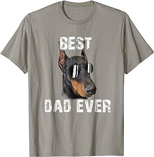 Doberman Pinscher Dad Shirt Independence Day Gifts