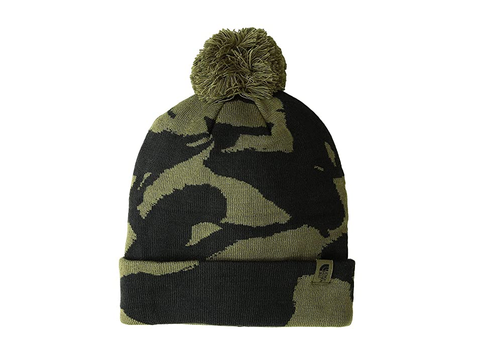 The North Face Ski Tuke V (Burnt Olive Green/Disrupt Camo) Beanies