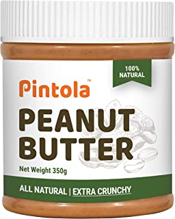 Pintola All Natural Peanut Butter (Extra Crunchy) (Unsweetened) (350g)