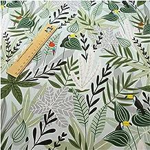 DIY Gedrukte bladeren 100% katoen stoffen voor DIY naaien textiel tissue patchwork beddengoed quilten voor naaien, doe-he...