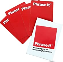 Phrase It English Learning Card Game for Teaching and Classroom Activities - Phrasal Verbs in Spoken Language