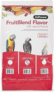 ZuPreem FruitBlend Flavor Bird Food for Medium to Large Birds