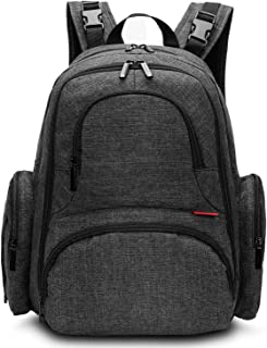 CoolBELL Baby Diaper Backpack With Insulated Pockets/Large Size Water-resistant Baby Bag/Multi-functional Travel Knapsack ...