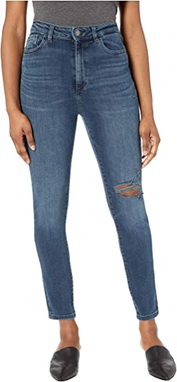 Chrissy Ultra High-Rise Skinny in Saxton