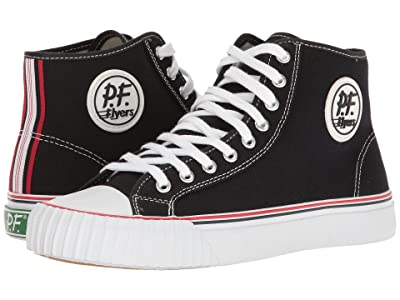 PF Flyers Center Hi (White/Black) Men