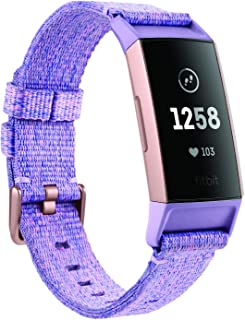 Fitbit CJK Charge 3, NFC, Lavender Woven