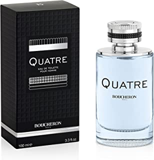 Boucheron Quatre For Men 100Ml - Eau De Toilette