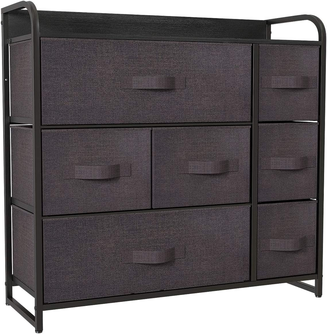 New arrival YITAHOME Fabric Dresser with 7 Storage Safety and trust Larg - Tower Drawers
