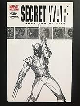 Secret War #2 2004 Sketch Variant Marvel Comic Book NM Condition 1st appearance of Daisy Johnson Quake Marvel Rising Cartoon Character
