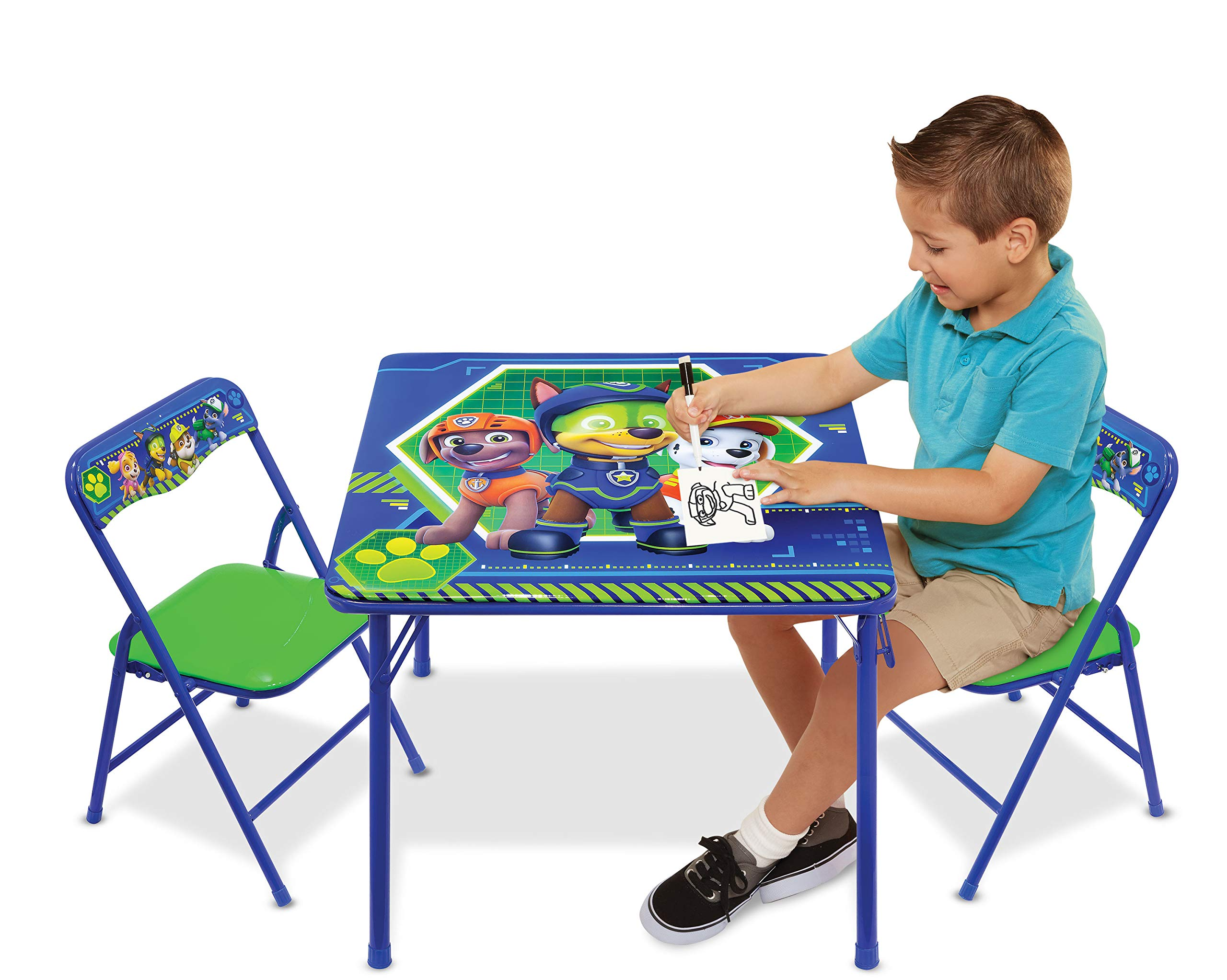 Nickelodeon Patrol Activity Chairs Blue Green