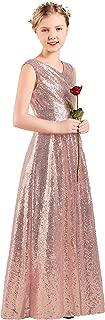 gold sequin junior bridesmaid dresses