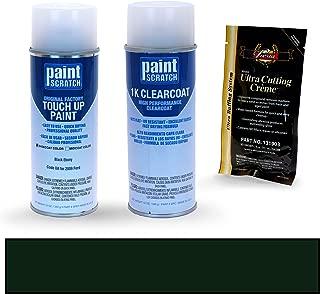 PAINTSCRATCH Black Ebony UA for 2009 Ford Edge - Touch Up Paint Spray Can Kit - Original Factory OEM Automotive Paint - Color Match Guaranteed
