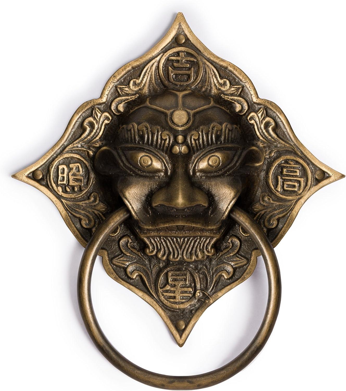 CBH Auspicious Super sale period Cheap sale limited Lion Brass Door Hardware Gate 6.7