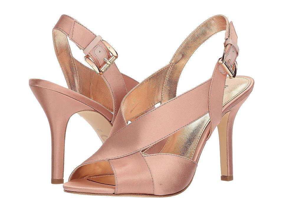 MICHAEL Michael Kors Becky Sandal (Soft Pink Satin) Women